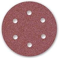 MENZER Red Discos Abrasivos con Velcro, 150 mm