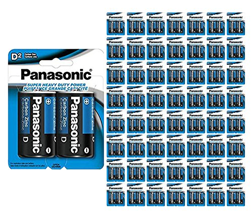 1920x Panasonic Size D Batteries 1.5V Heavy Duty Wholesale Lot D2 x 960 by 21Supply