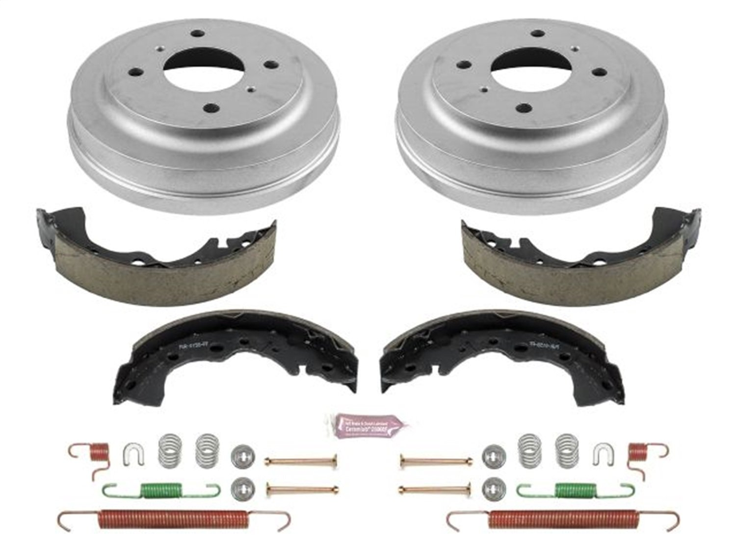 Power Stop KOE15376DK Daily Driver Drum and Shoe Kit (Rear)