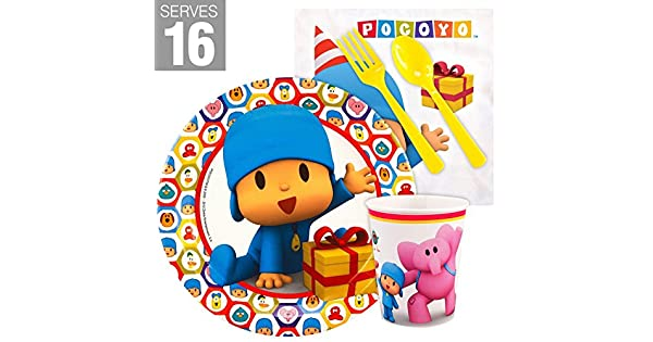 Amazon.com: Pocoyo Snack Pack de Fiesta para 16: Toys & Games
