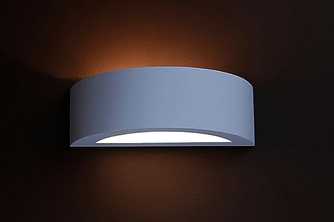 Lampada da parete in gesso lampada da parete in gesso cm di