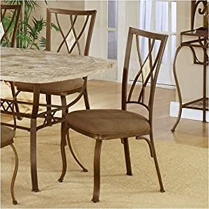 Amazon Com Hawthorne Collections Fabric Dining Chair In