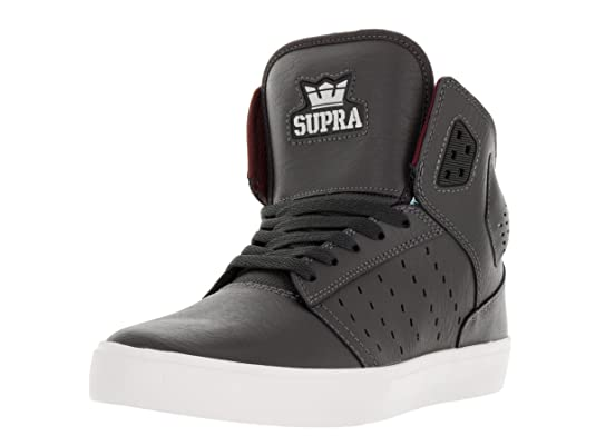 99bdcda93fc2 Supra Men s Atom High-Top Suede Fashion Sneaker  Amazon.co.uk  Shoes   Bags