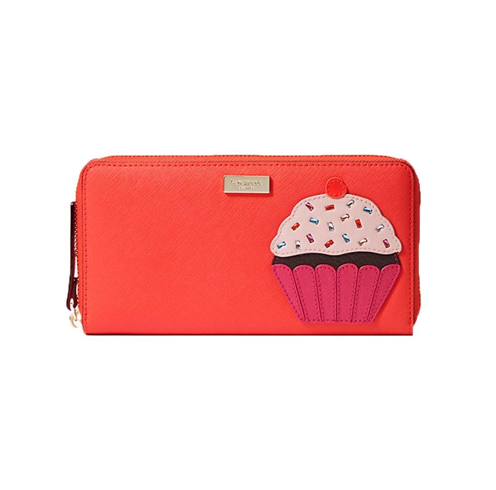 Kate Spade Take The Cake Cupcake Neda Continental Zip Wallet, Multi by Kate Spade New York