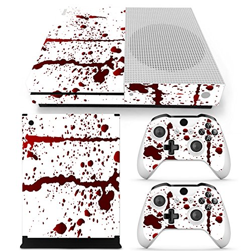 Gam3Gear Vinyl Decal Protective Skin Cover Sticker for Xbox One S Console & Controller – Blood For Sale