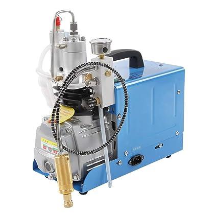 Bomba de aire eléctrica de alta presión de 30 MPA, control automático, bomba de
