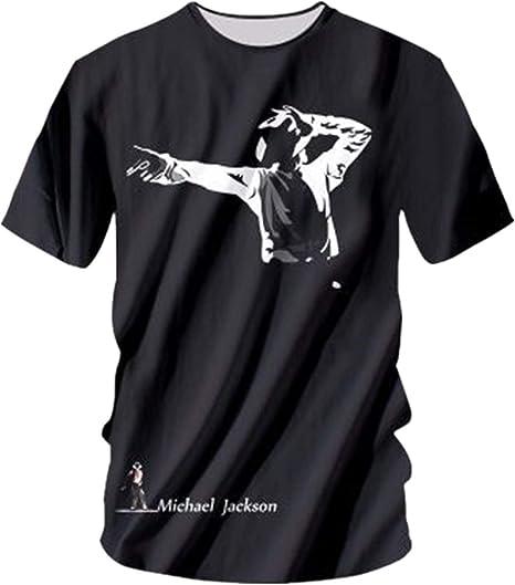 Shuanghao Camisetas Unisex para Hombre para niños Camisetas de Michael Jack Memorial Camisetas de Billie Jean Camisetas de Michael Jack: Amazon.es: Ropa y accesorios