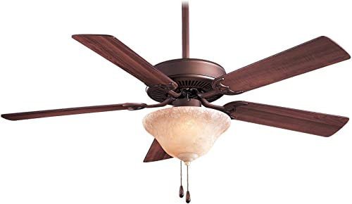 Minka-Aire F548-ORB EX, Contractor Uni-Pack, 52 Ceiling Fan, Oil-Rubbed Bronze