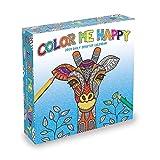 2019 Color Me Happy Desk Calendar, Modern | Pop Art by TF Publishing