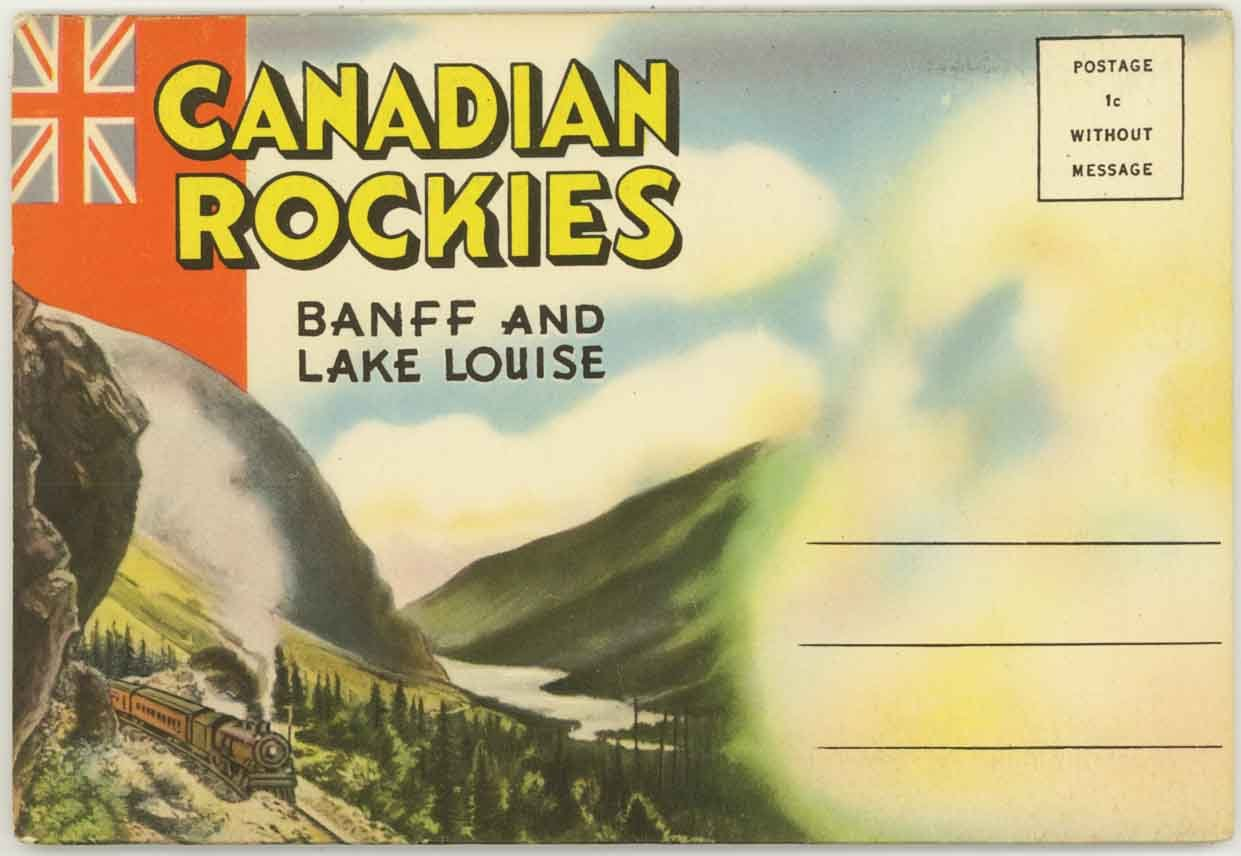 banff-lake-louise-canadian-rockies-1940-s-souvenir-postcard-folder