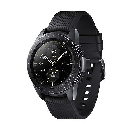 Samsung Galaxy Watch - Reloj inteligente LTE (42 mm) color negro- Version española: Amazon.es: Electrónica
