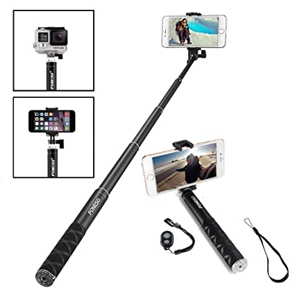 newest e65cc 05eda Selfie Stick, Foneso Ultra Compact Durable Selfie Monopod for iPhone 6s/6s  Plus/6/6 Plus, iPhone 4 5 5s 5c, Android Smartphones,Gopros and Compact ...
