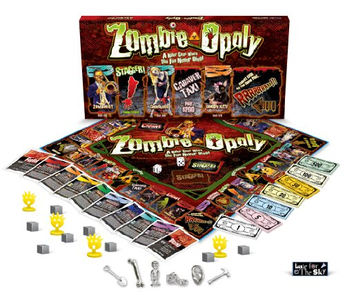 Zombie-Opoly Board Game (Monopoly Style)