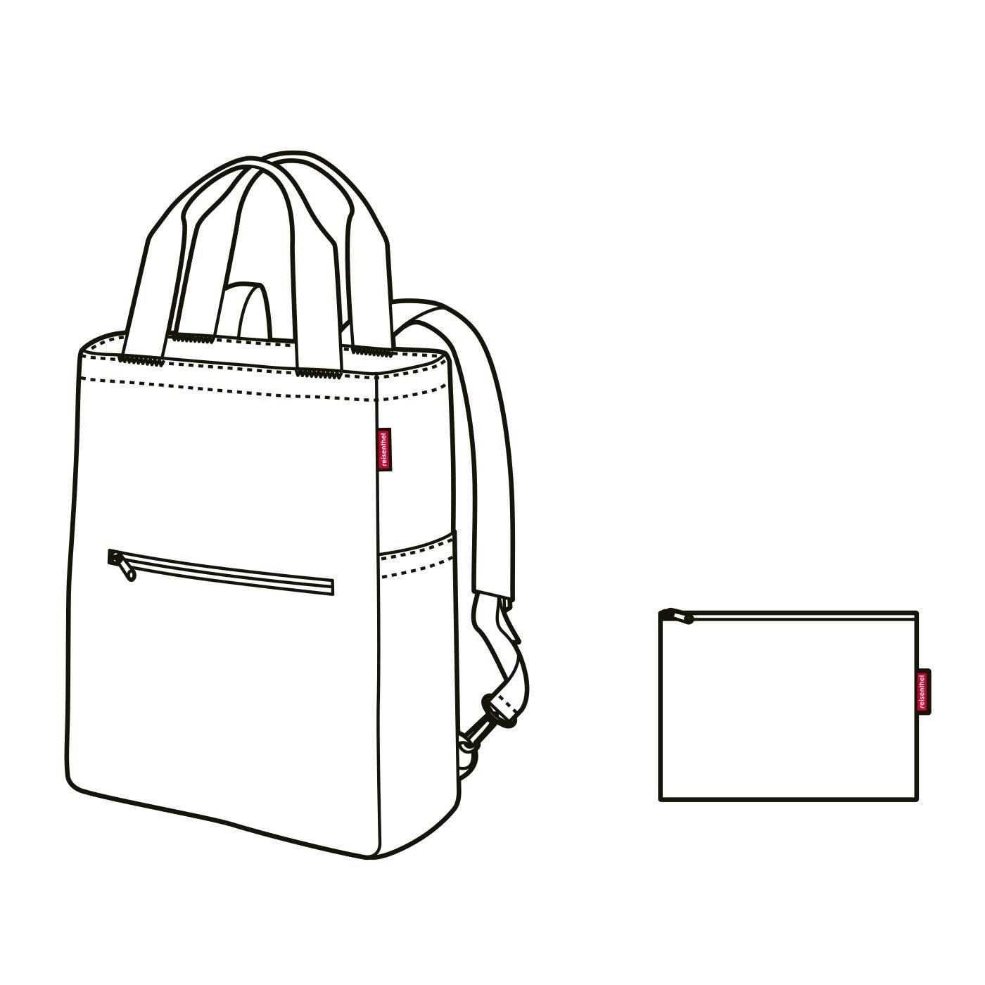 Reisenthel Mini Maxi 2in1 Rucksack Tragetasche faltbar waschbar wasserabweisend