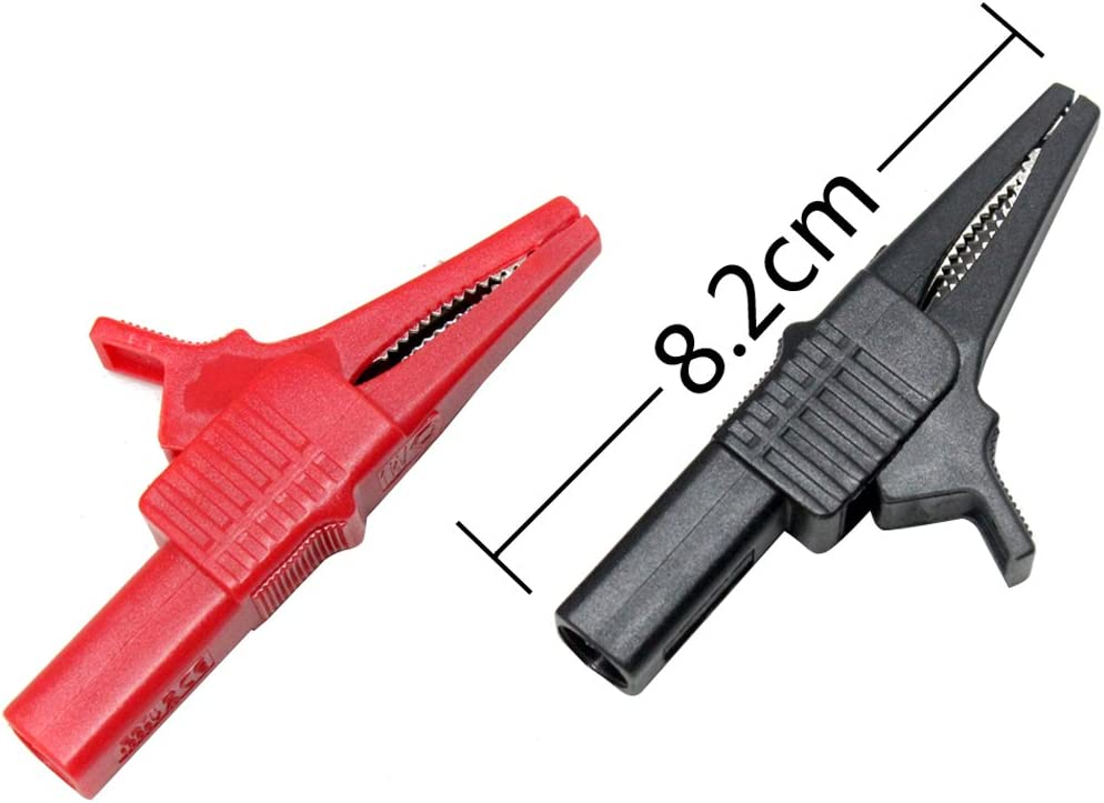 2PCS M005 M006 Multimeter Multi Meter Test Lead /& Insulation CATIII /& Alligator Crocodile Clip clamp test lead probe,M006