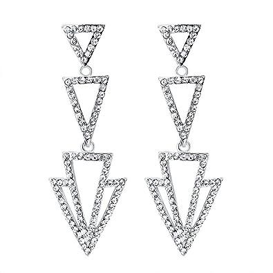 3877bcc906 Amazon.com  Ai.Moichien Women Drop Dangle Earrings Elegant Stud ...