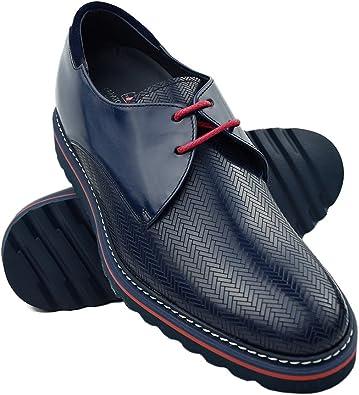 Zerimar Zapatos con Alzas Hombre| Zapatos de Hombre con Alzas Que Aumentan su Altura + 7 cm| Zapatos con Alzas para Hombres | Zapatos Hombre Vestir | Fabricados en España: Amazon.es: Zapatos y complementos