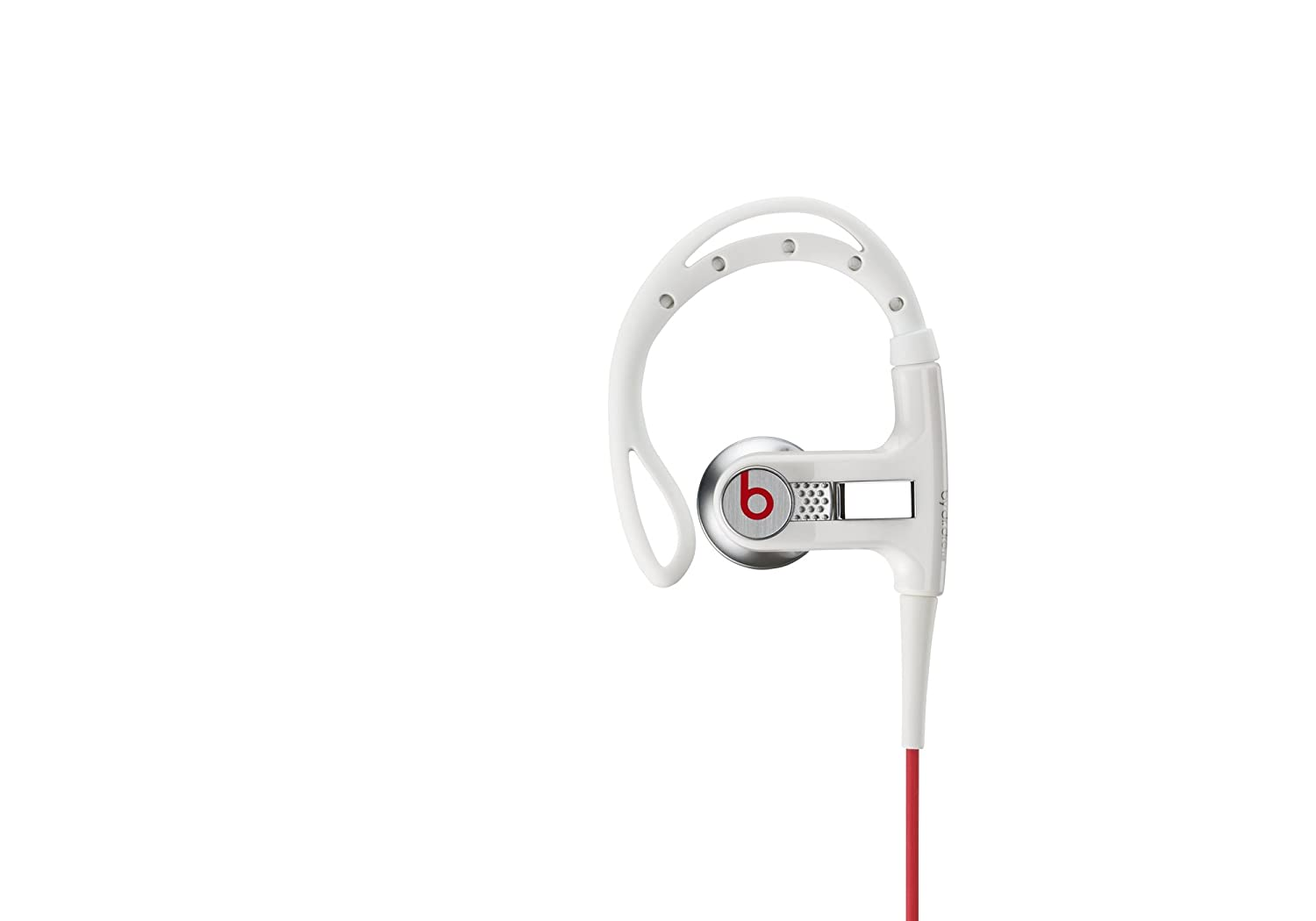 Monster Power Powerbeats - Auriculares (Binaurale, Color blanco, gancho de oreja, Alámbrico, Multi-key, 3.5 mm (1/8