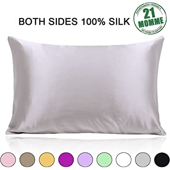 Amazon Com Ravmix 100 Pure Mulberry Slip Silk Pillowcase
