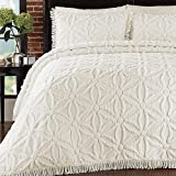 Lamont Home Arianna Bedspread, Full, Ivory