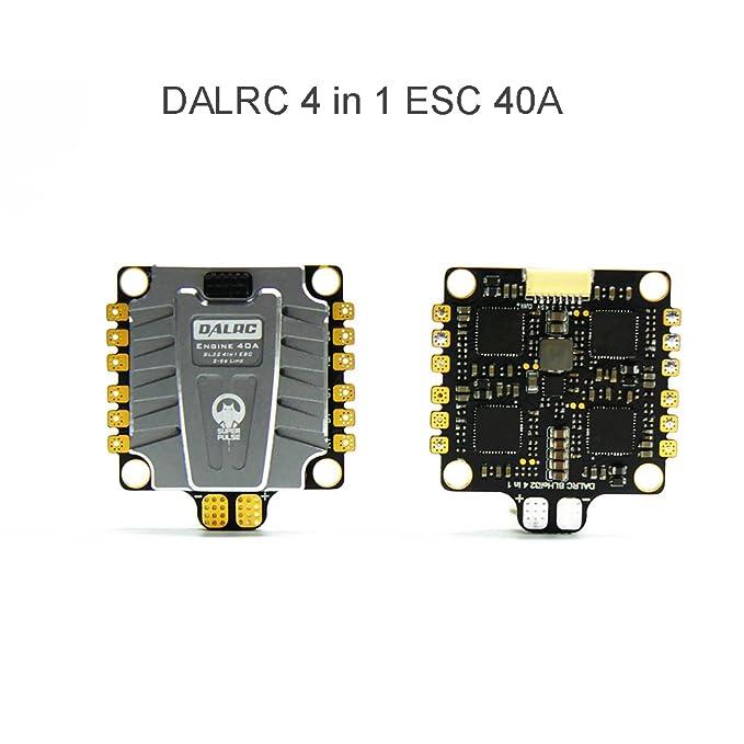 RCmall DALRC Engine 4 en 1 ESC 40A 3-5S Blheli_32 ESC sin ...