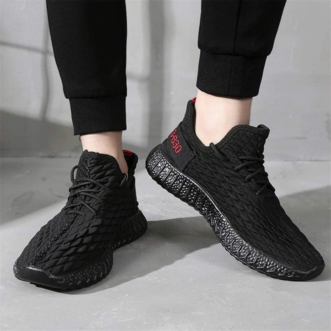 BBGBBG Sports Shoes Flying Woven Breathable Sports Casual Running Mens Shoes Wild