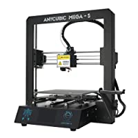ANYCUBIC MEGA-S 3D Printer Printing Size 210 x 210 x 205 mm with UltraBase Heated Build Plate + Free 1kg PLA Filament, Works with TPU/PLA/ABS