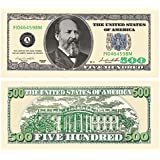 Set of 10 Bills-Five Hundred Dollar Bill