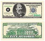 Set of 10 Bills-Five Hundred Dollar Bill