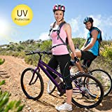 4ucycling Women 3D Padded Breathable ¾ Cycling