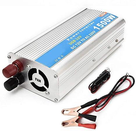 Coche 150W 12V a 220V inversor Power Conversion inversor Doble USB
