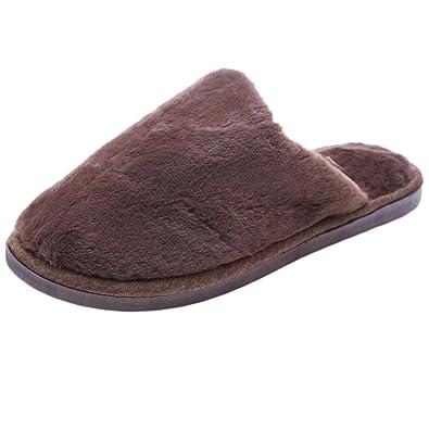 Faux Fur Slipper Inkach Women Open Toe Slip On Fluffy Plush Flat Sandals Fuzzy Shoes