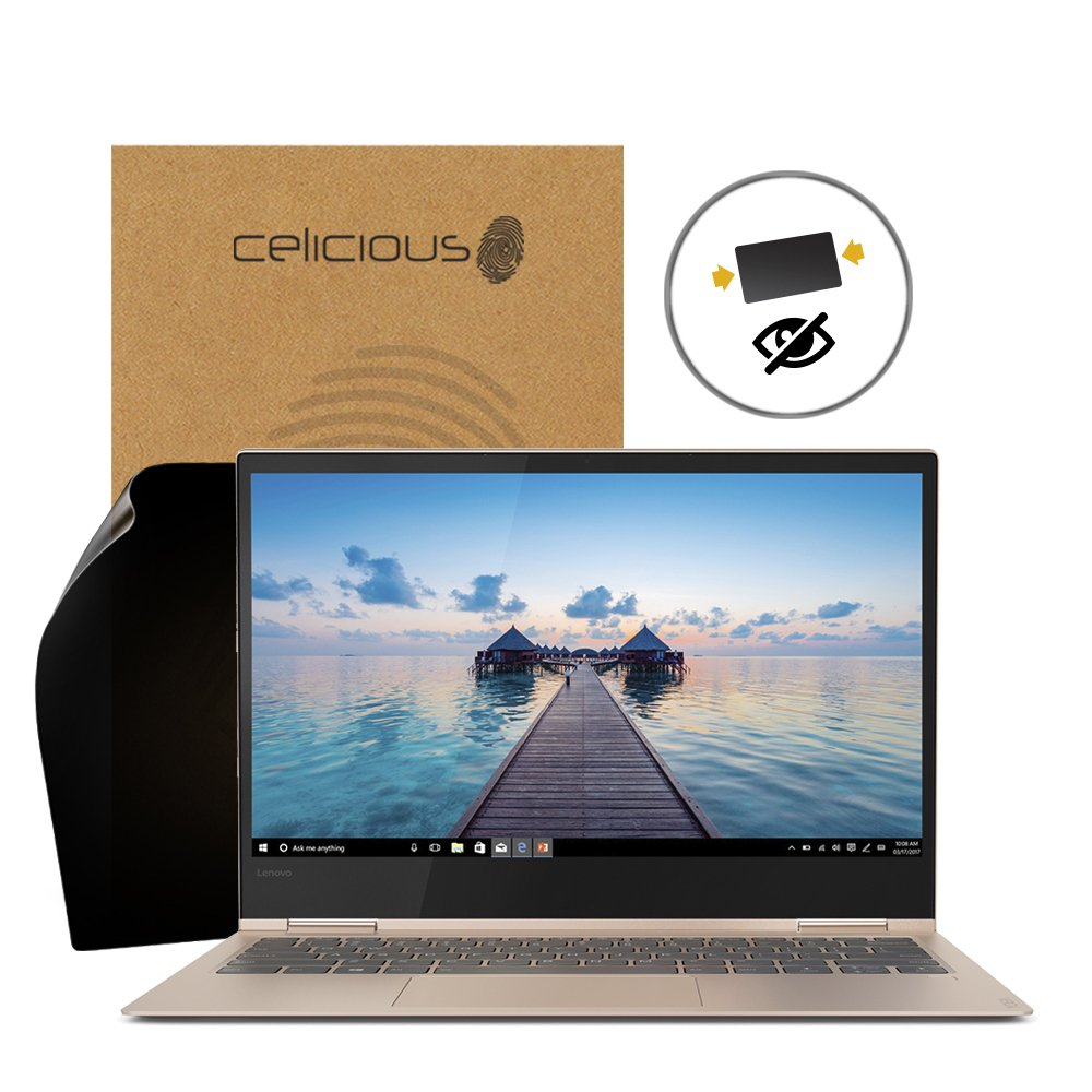 Celicious Privacy 2-Way Anti-Spy Filter Screen Protector Film Compatible with Lenovo Yoga 730 13