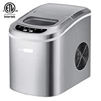 VIVOHOME Electric Portable Compact Countertop Ice Maker Machine