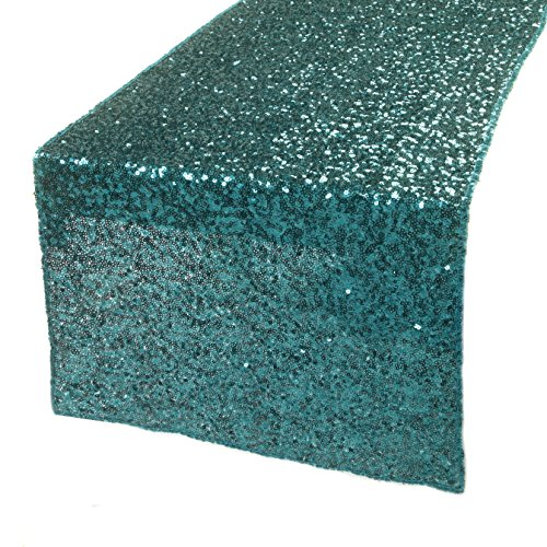 Kevin Textile Decoration Rectangular Sequins Table Cloth/Tablecloth/Topper for Holidays/Wedding 14