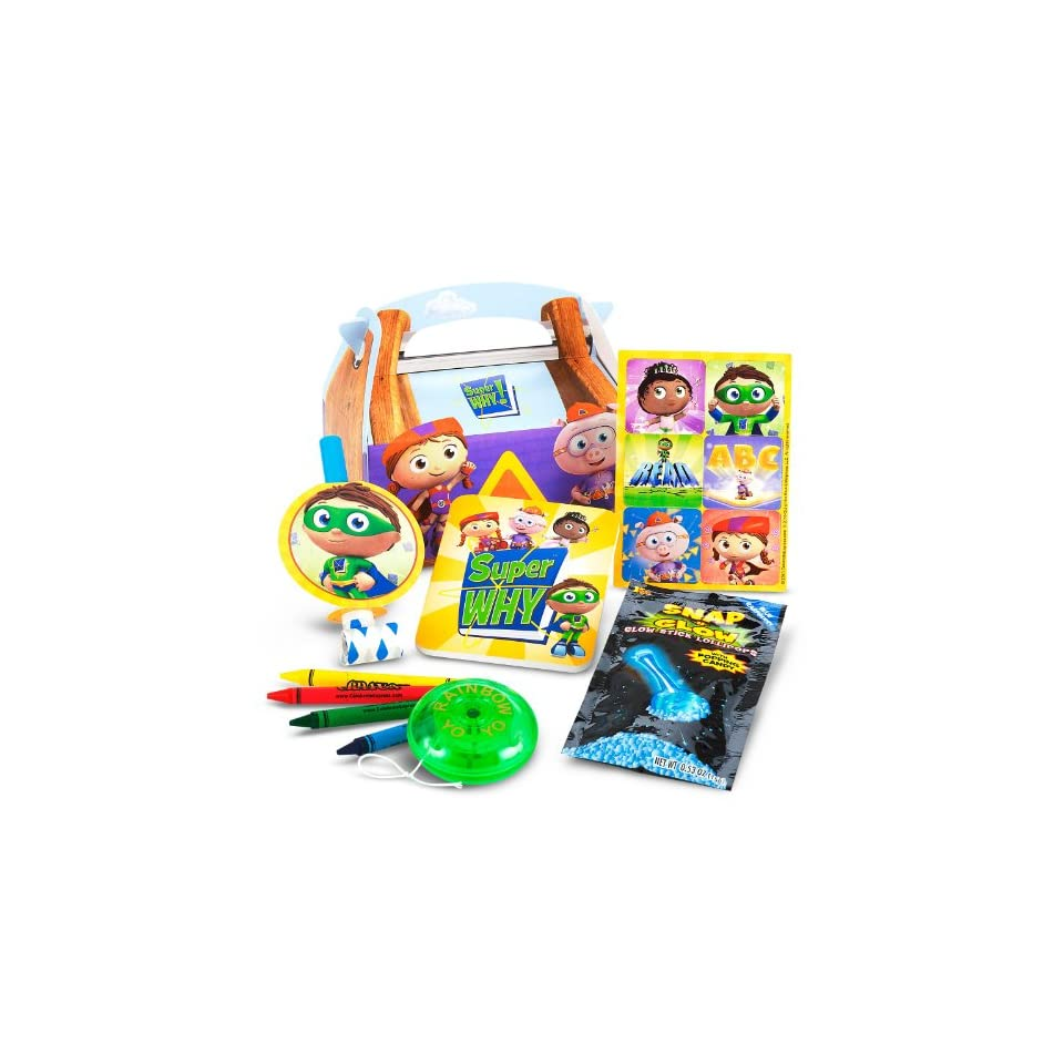 Deco Pac Super Why   Super Birthday Edible Icing Cake Topper