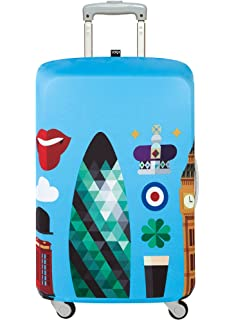 a8daff46473f Amazon.com: LOQI AIRPORT Airplane Luggage Cover: Clothing