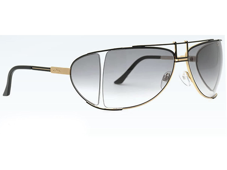 d8a370b339f Amazon.com  Cazal Vintage Legend Sunglasses C002 Black Gold   Grey Gradient  9036-002  Clothing