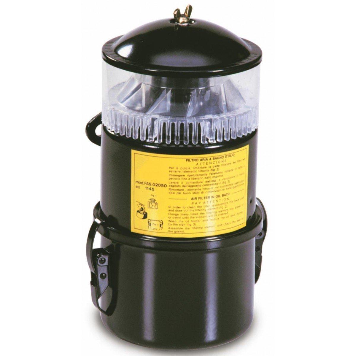 Filtro Aire a ba/ño de aceite con prefiltro a Ciclone adaptable a Ruggerini 388.29/de ama