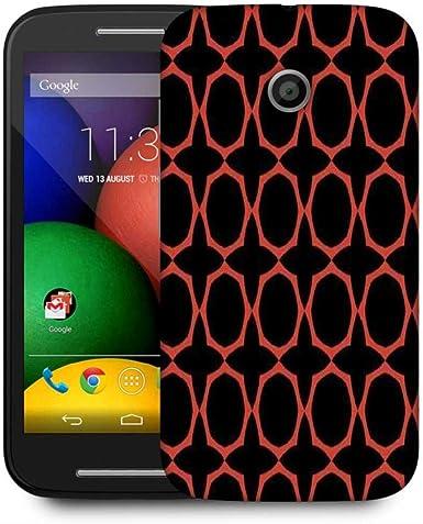 Snoogg Naranja Funda protectora teléfono Back Case Cover for ...