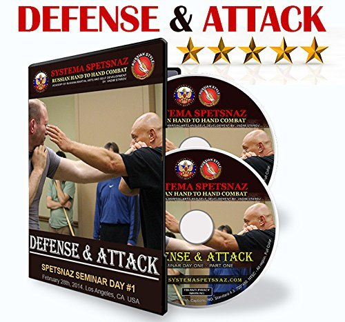 Russian Martial Arts DVDs - Defense and Attack 2 DVD set - Martial Art Instructional Videos by Systema Spetsnaz - Russian Hand to Hand Combat