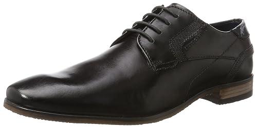 Bugatti 3.11151E+11, Zapatos de Cordones Derby Para Hombre, Marrón (Dark Brown 6100), 41 EU amazon-shoes el-negro Cordones