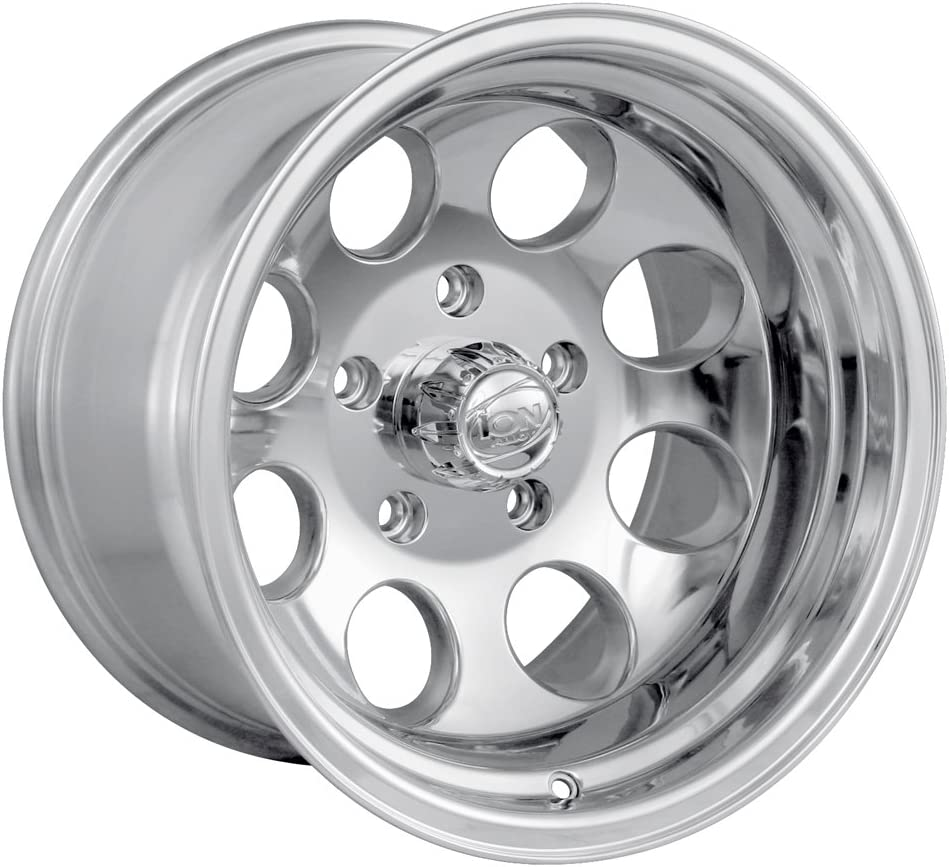 17x9//8x165.1mm Ion Alloy 171 Polished Wheel