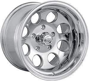 16x8//6x139.7mm Ion Alloy 174 Black Beadlock Wheel