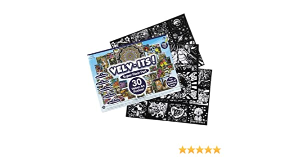Amazon.com: Kids Craft Velv-Its Super Floor Pad Pack: Toys & Games