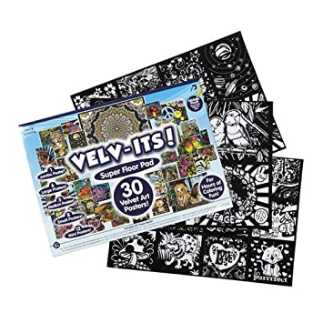 Amazon.com: Kids Craft Velv-Its Super Floor Pad Pack: Toys & Games