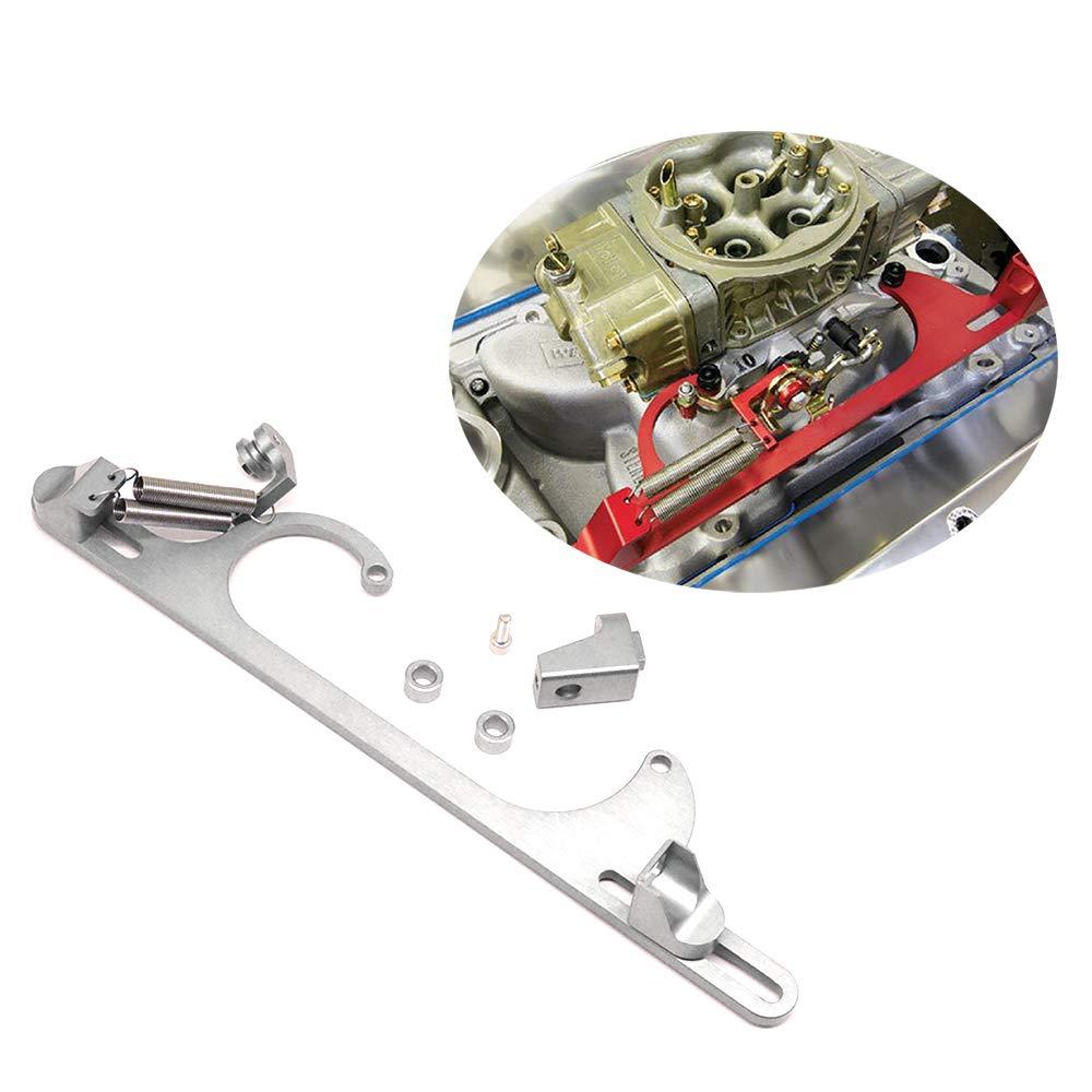Tasan Racing Aluminum 4150 4160 Series Throttle Cable Bracket Carburetor Silver