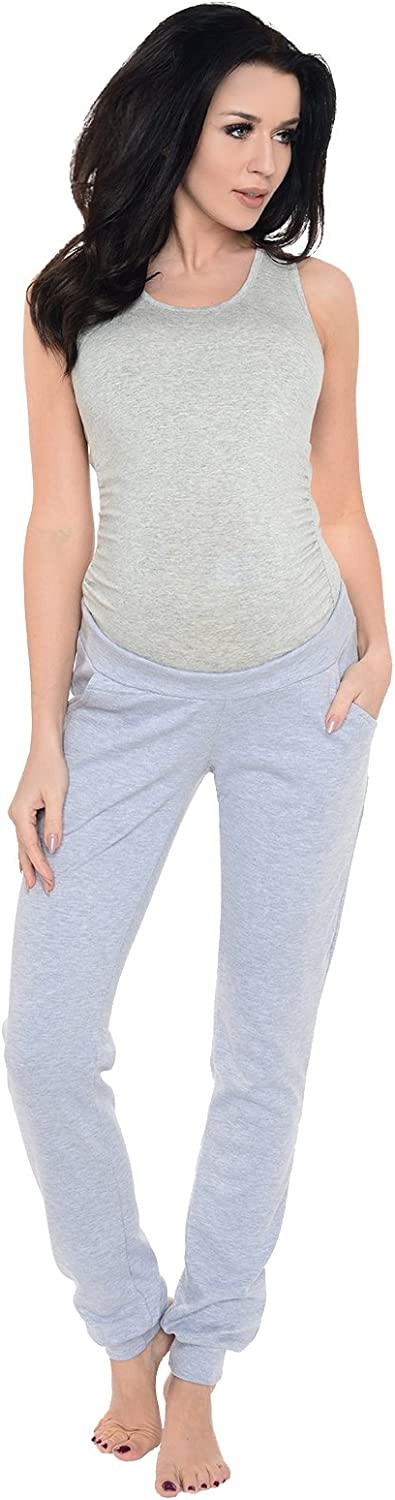 Purpless Maternity Pregnancy Trousers Under and Over Bump Joggers for Pregnant Women 1321