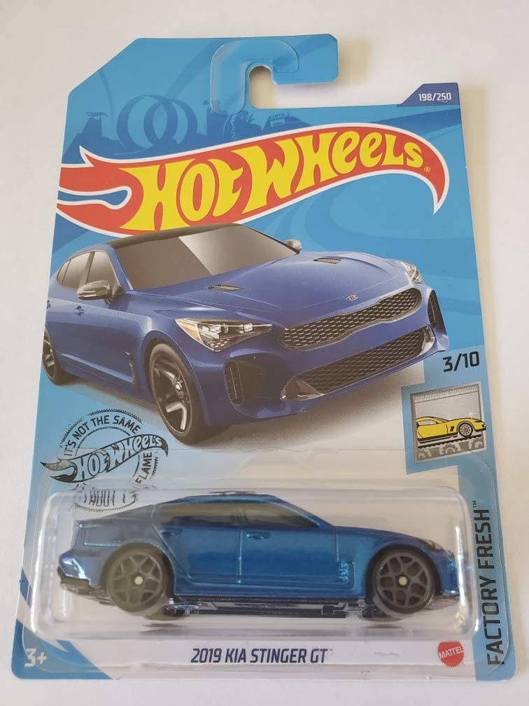 amazon com hot wheels 2020 factory fresh 2019 kia stinger gt blue 198 250 toys games hot wheels 2020 factory fresh 2019 kia stinger gt blue 198 250