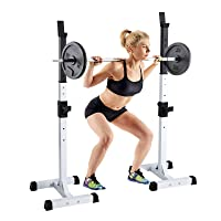 Deals on Amikadom Adjustable Squat Rack Squat Rack
